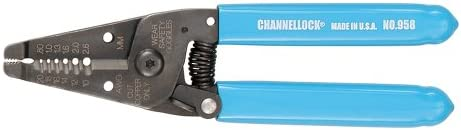 Channellock 958 6-14-Inch Wire Stripper and Cutter