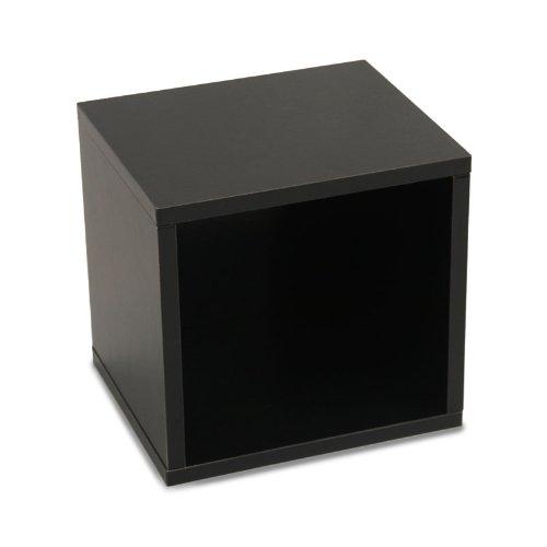 Modul-Würfelregal Standregal M73, 33x34x29 cm ~ schwarz, drehbar günstig bestellen