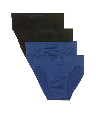 Unno Pack x 4 Slips Hombre