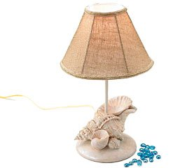 table lamp beach decor home decor lighting accessories theme beach. Black Bedroom Furniture Sets. Home Design Ideas