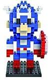 Marvel Avengers Diamond Blocks/Micro Bricks -Spider Man/Hulk/Captain America/Iron Man/Bat Man/Super Man/Thor/Wolverine (Captain America)