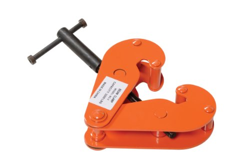 Vestil BC-2 Steel Beam Clamp, 2000 lbs Capacity, 2-1/2