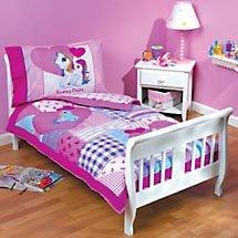 Amazon My Little Pony Toddler Bed Set Everything Else