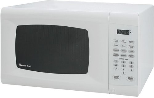Magic Chef - .9 Cubic-Ft, 900-Watt Microwave With Digital Touch (White) *** Product Description: Magic Chef - .9 Cubic-Ft, 900-Watt Microwave With Digital Touch (White) .9 Cu-Ft Capacity 900W Digital Touch 10 Power Levels Electronic Controls With ***