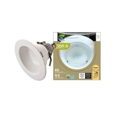 "24 Pk Cree Cr6 Ecosmart Led 6 "" Recessed Light 9.5W 35,000 Hours 2700K"