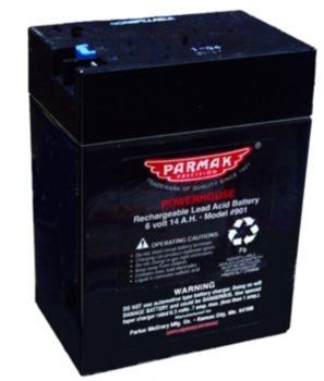 Parmak 901 6-Volt Gel Cell Battery for Solar Powered Electric Fences