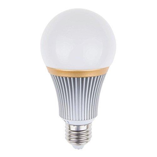 Dimmable 7 Watts Led Globe Bulb Light Lamp E27 Screw Base Warm White Lighting