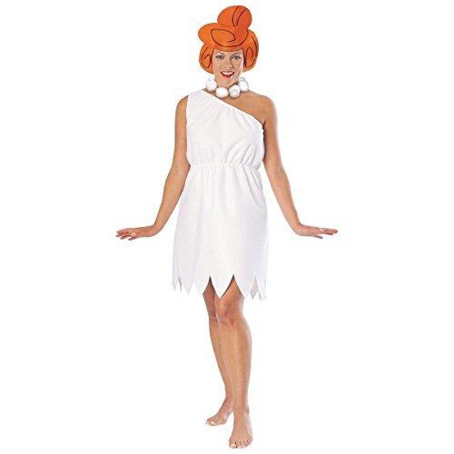 [GSG Wilma Flintstone Costume Adult The Flintstones Cavegirl Halloween Dress] (Sexy Wilma Costumes)