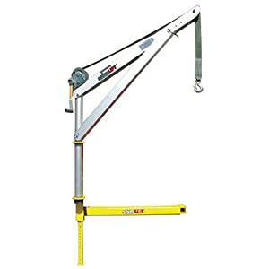 Spitzlift 4-Ft. Manual Truck Receiver Hitch Crane - 550-Lb. Capacity, Model# LKTRS-700