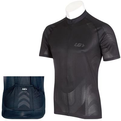 Buy Low Price Louis Garneau 2008 AirMatrix Short Sleeve Cycling Jersey – Black – 1020295-020 (B000E8IW3A)