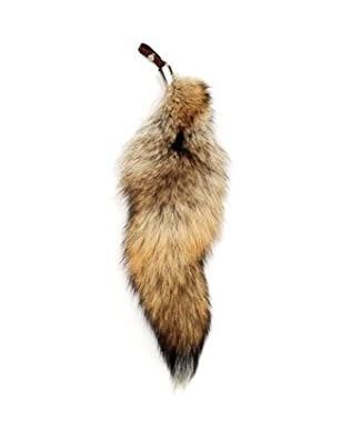 Michael Kors Brewster Fox-Tail Hangtag natural