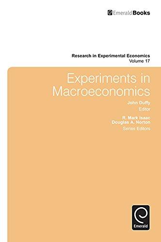 John Duffy - Experiments in Macroeconomics: 17 (Research in Experimental Economics)