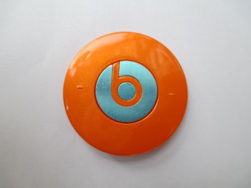 Goodies® Replacement Part Battery Cover For Monster Beats Dre Headphone Studio Orange Color