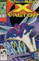 X-Factor #24 : Masks (The Fall of the Mutants - Marvel Comics) by Louise Simonson and Walter Simonson