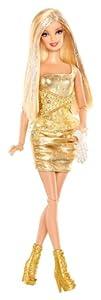 Barbie Fashionista Blonde Doll (Gold)