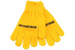 Pittsburgh Gloves - Stretchy Gold at SteelerMania