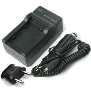 EPG Battery Charger for SAMSUNG SLB-07A Compatibel With US Flip, EU Plug and Car adapter