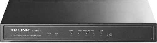 Tp-Link Tl-R470T+ Load Balance Broadband Router, 3 Changeable Ethernet Wan/Lan Ports, 64Mb Dram