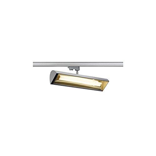 SLV Nepro 2 Pl, Spot, Tc-L ESL inklusive 3 Pin Adapter, 36 W, silber / grau 153544