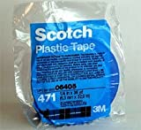 3/4″ 3M Scotch Blue Fine Line Plastic Striping Tape-Car