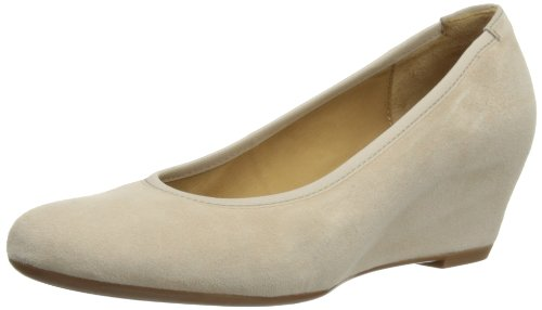 Gabor Womens Fantasy Court Shoes 85.360.10 Beige 3.5 UK, 36 EU