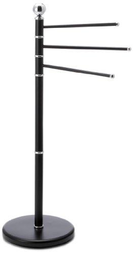 handtuchhalter ausverkauf kela 20972 handtuchhalter graphito mit 3 stangen 92 cm hoch schwarz. Black Bedroom Furniture Sets. Home Design Ideas