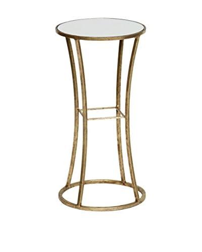 Prima Square Stock Table, Gold