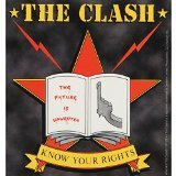 C&D Visionary The Clash Know Your Rights Sticker