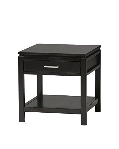 Linon Home Décor Sutton End Table, Black