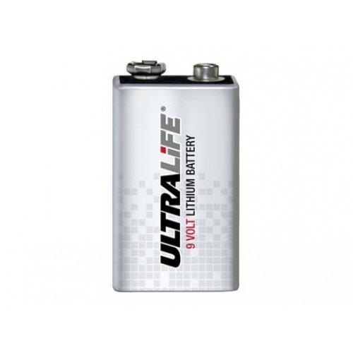 Pile lithium Ultralife type/réf. U9VL-J pile 9 Volt