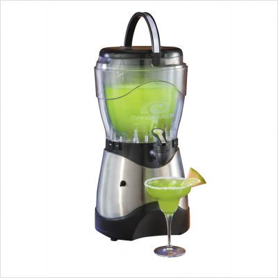 Nostalgia Electrics Margarator Frozen Drink Machine (Silver and Black) (19.3
