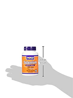 NOW Foods Selenium 200 mcg VCaps, 180 ct from NOW Foods