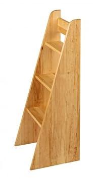 BioKinder 22187 Escalera para cambiador Laura, 89x40x31 cm, madera aliso biológica