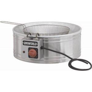 Uniworld (UF-R20) Electric Round Fryer (Uniworld Round Fryer compare prices)