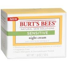 Burt'S Bees Sensitive Night Skin Cream 1.8 Oz. (Quantity Of 2) front-917536