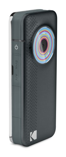 Kodak PlayFull ZE1 Full HD 1080P, Image Stabilisation with Built-in USB Arm - Blue/Black