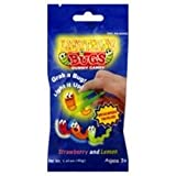 GUMMI LIGHTNING BUGS (with tongs) 12count