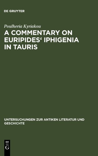 A Commentary on Euripides' Iphigenia in Tauris...