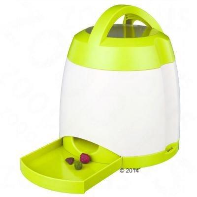 Wangado -Trixie Dog Activity Memory Trainer Gioco Strategico Innovativo distributore automatico di cibo: giocosa combinazione di movimenti e attività mentale, con livello di difficoltà variabile con un raggio d'azione fino a 40 m. Funzionamento a batterie