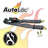2 Point Black Lap Seat Belt (1 Belt)