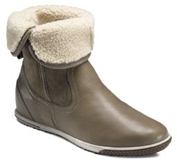 ECCO Spin 249063 Warm Grey stivaletto slip-on lana donna (41 EU)