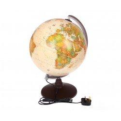 Illuminated Marco Polo Globe Antique 300mm - Color: Marco Polo