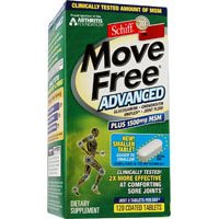 Schiff Move Free Advanced Tablets Plus Msm, 120 Tabs (Pack Of 2)