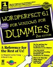 img - for WordPerfect 6.1 For Windows For Dummies (For Dummies (Computers)) book / textbook / text book
