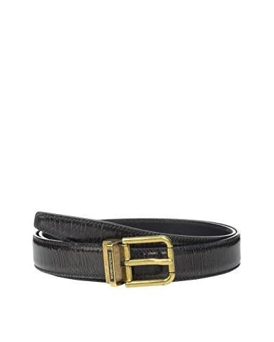 Dolce & Gabbana Cintura Pelle [Grigio Scuro]