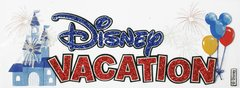 Jolees Disney Vacation Title Dimensional Sticker