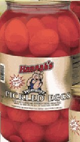 Hannah's Red Eggs 4lb Jar from American Foods Group