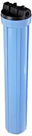 """Pentek 158129 3/8"""" #20 Slim Line Blue Filter Housing"""