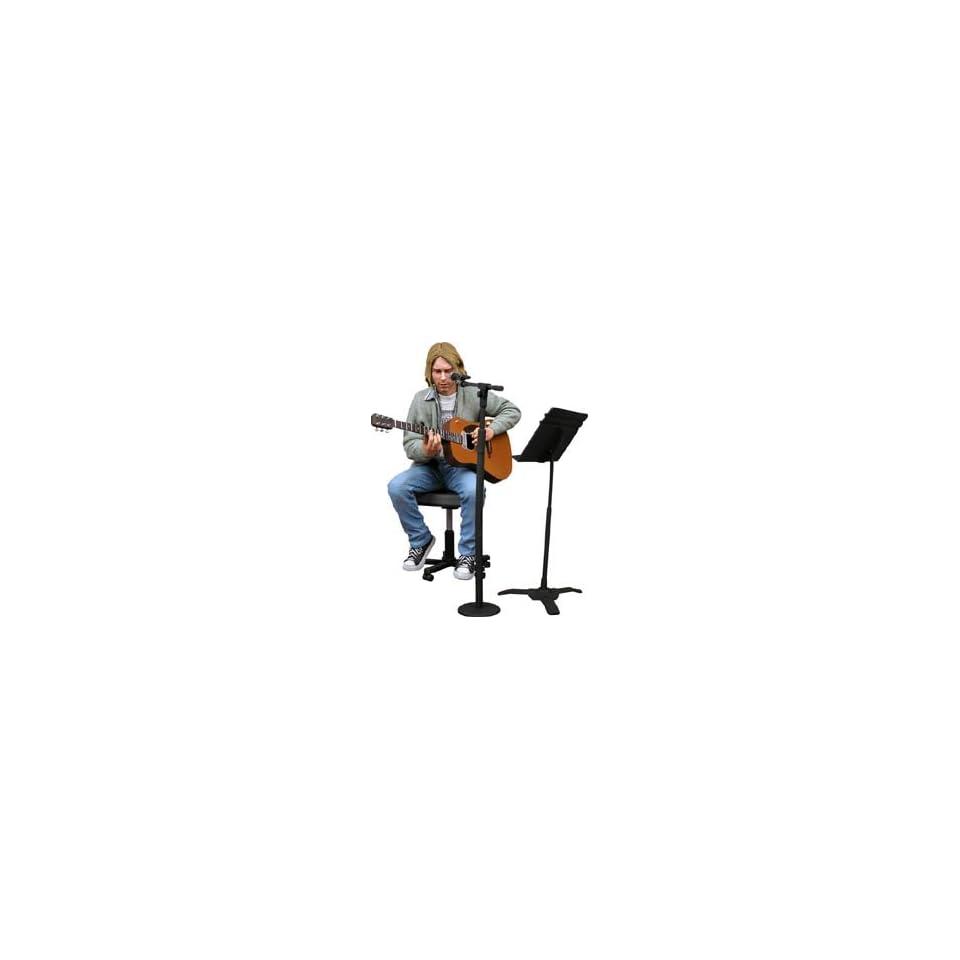 Kurt Cobain Nirvana Grunge Rock Unplugged Acoustic Figurine #2