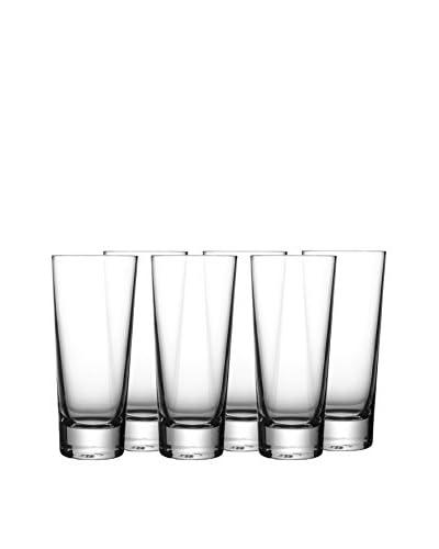 Jay Imports Set of 6 Jive Shot Glasses, Clear